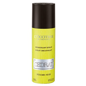 Cédrat Spray Deodorant