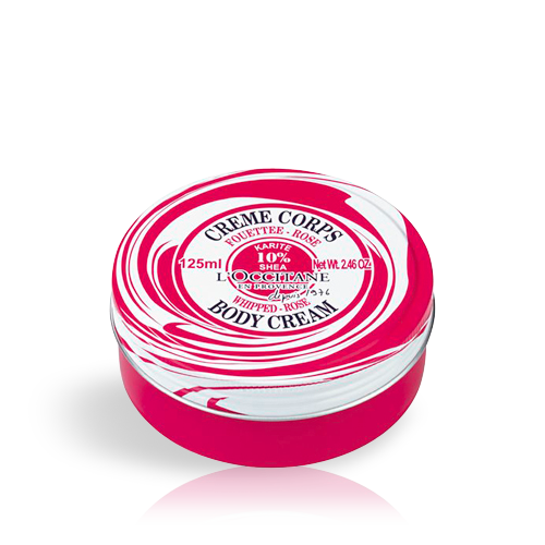 Shea Rose Whipped Body Cream 125ml