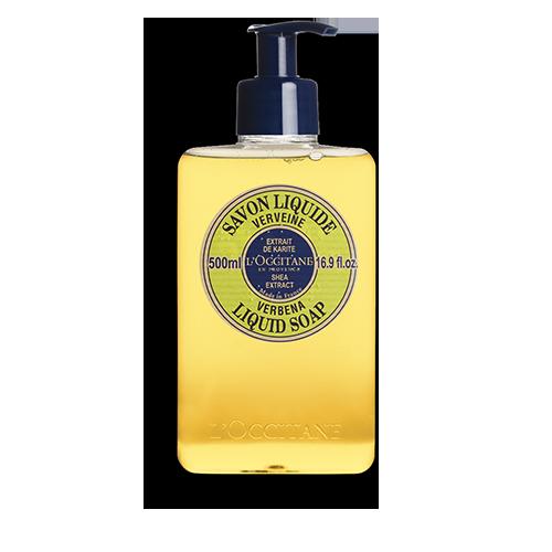 Shea Butter Verbena Liquid Soap