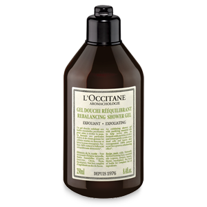 Aromachologie Rebalancing Exfoliating Shower Gel