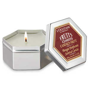 Candied Fruits Candle