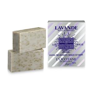 Lavender Rough-Cut Soaps 2x75g