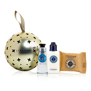 Shea Butter Holiday Bauble