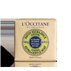 Shea Butter Verbena Gentle Soap