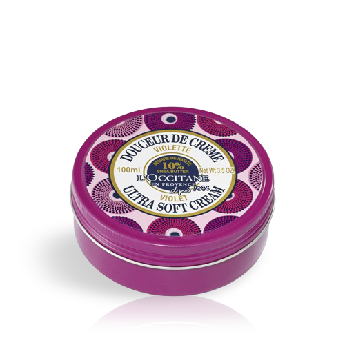 Shea Violet Body Cream Tribute to Women