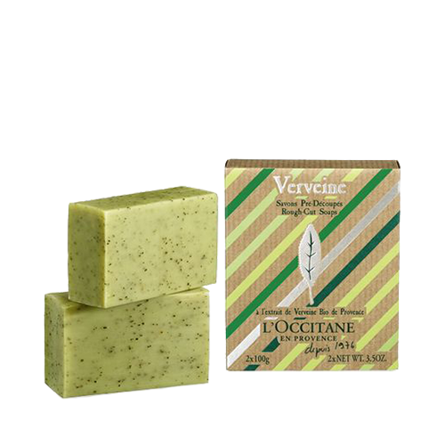Verbena Rough-Cut Soaps 2x100g