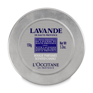 Lavender Scented Candle