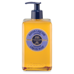Shea Butter Liquid Soap - Lavendar