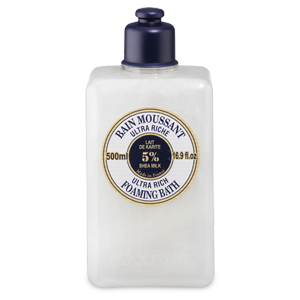 Ultra Riche Shea butter Foaming Bath