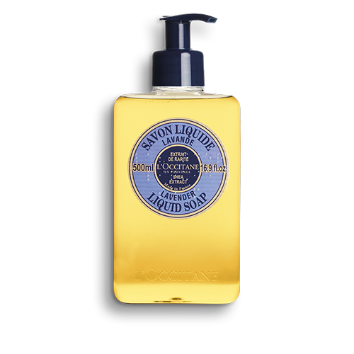 Shea Butter Liquid Soap - Lavendar