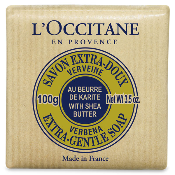 Shea Butter Verbena Extra Gentle Soap