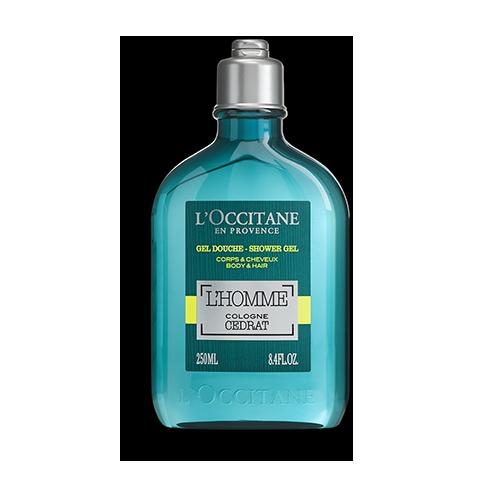 L'Homme Cologne Cedrat Shower Gel Body & Hair 250 ml