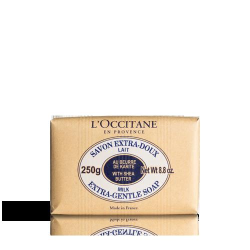 Shea Butter Extra Gentle Soap - Milk 250 g