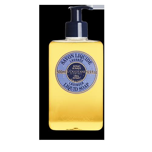 Shea Butter Liquid Soap - Lavender 500 ml