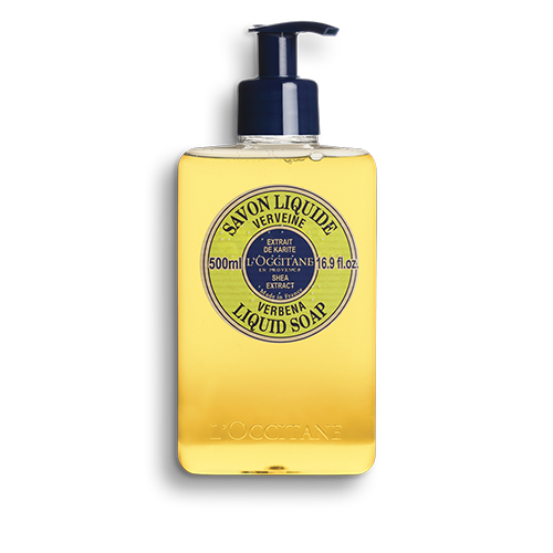 Shea Butter Liquid Soap - Verbena 500 ml