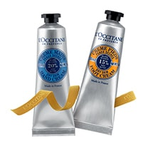 Shea Hand Cream and Foot Cream Duo