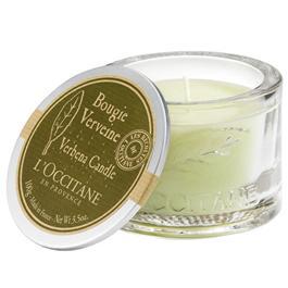 l'occitane verbena glass candle