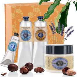 L'OCCITANE - Shea Butter Body Set - Body & Hands - Usage :  loccitane creme bath cream