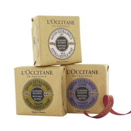 L'OCCITANE - Shea Butter Soap Trio - Soaps - Body & Hands - Products :  soap trio soap shea butter loccitane