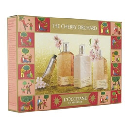 L'OCCITANE - Cherry Blossom Box - Hand Care - Body & Hands - Usage :  spring bath gift box body