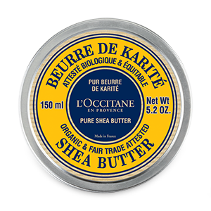 Certified Organic* Pure Shea Butter