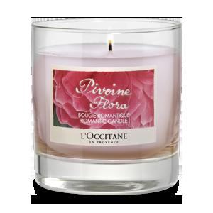Pivoine Flora Romantic Candle