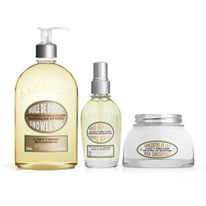 Almond Body Care Trio - L'Occitane