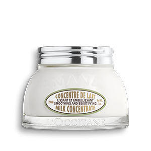 L'Occitane Almond Milk Concentrate helps to moisturize and soften the skin