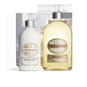 Almond Shower & Moisturizing Duo