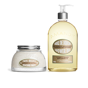Almond Shower & Scrub Duo - L'Occitane