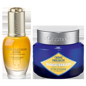 Anti-Aging Precious Cream & Divine Oil Duo