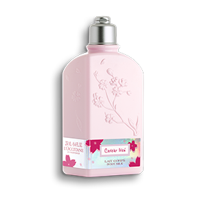 Cherry Blossom Cerisier Irisé Body Milk - L'Occitane