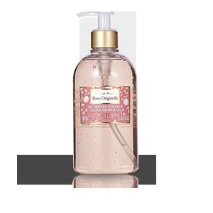 Gentle Original Rose Shower Gel - L'Occitane