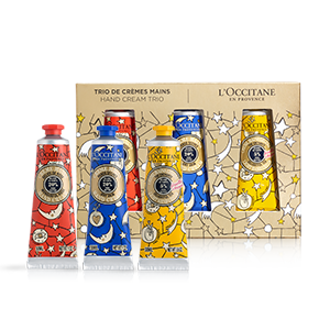 Holiday Hand Cream Trio - L'Occitane