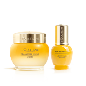 Immortelle Divine Eyes & Cream Duo - L'Occitane