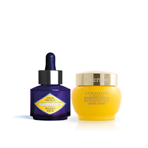 Immortelle Divine SPF Cream & Precious Serum Duo - L'Occitane