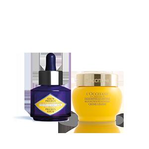 Immortelle Divine SPF Cream & Precious Serum Duo