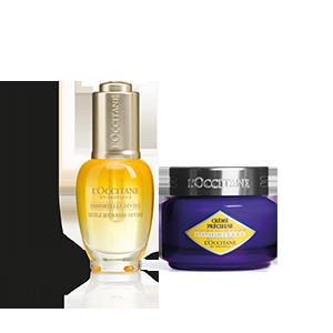 Immortelle Divine Youth Oil & Precious Cream Duo