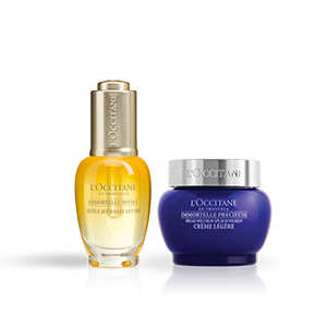 Immortelle Divine Youth Oil & SPF Precious Cream Duo - L'Occitane