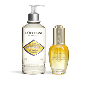 Immortelle Oil and Cleanser Duo - L'Occitane