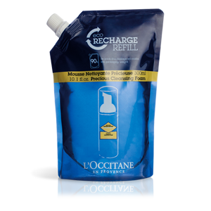 Immortelle Precious Cleansing Foam Refill - L'Occitane