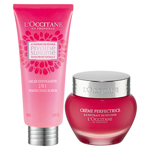 Peony Exfoliating and Nourishing Duo