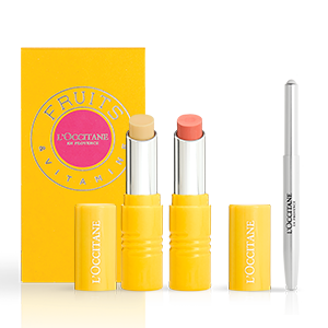 L'Occitane Pink Boscotin Perfect Lip Duo