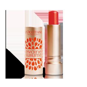 Pivoine Sublime Lip Balm Apricot