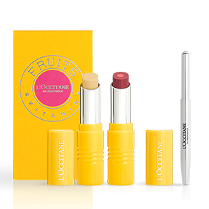 L'Occitane Plum Plum Girl Perfect Lip Duo