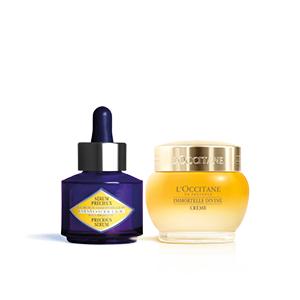 Precious Serum & Immortelle Divine Cream Duo - L'Occitane