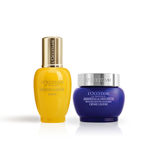 Precious SPF Cream & Immortelle Divine Serum Duo - L'Occitane
