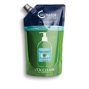 Aromachologie Fresh Revitalizing Hair Conditioner Refill - L'Occitane