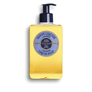Shea Butter Liquid Soap - Lavender