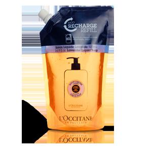 Shea Butter Liquid Soap Lavender Refill - L'Occitane